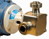 "2"" P370 'Pureflo' Hygienic Flexible Impeller Pump Head Kit"