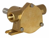 3/8&quot; bronze pump, <b>10-size</b>, foot-mounted with BSP threaded ports